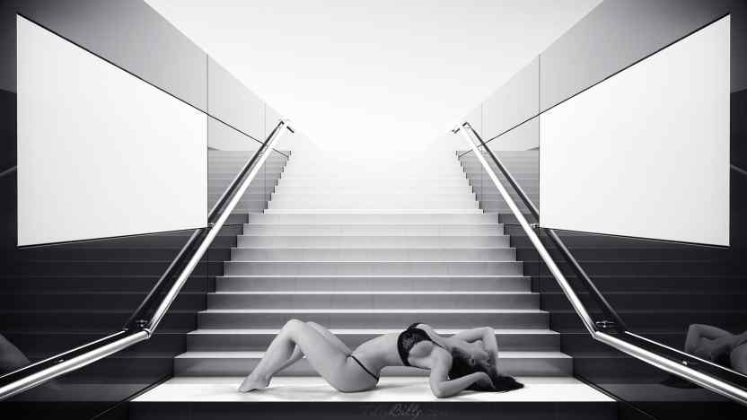 Composing Stairs Carmen by TillyBilly